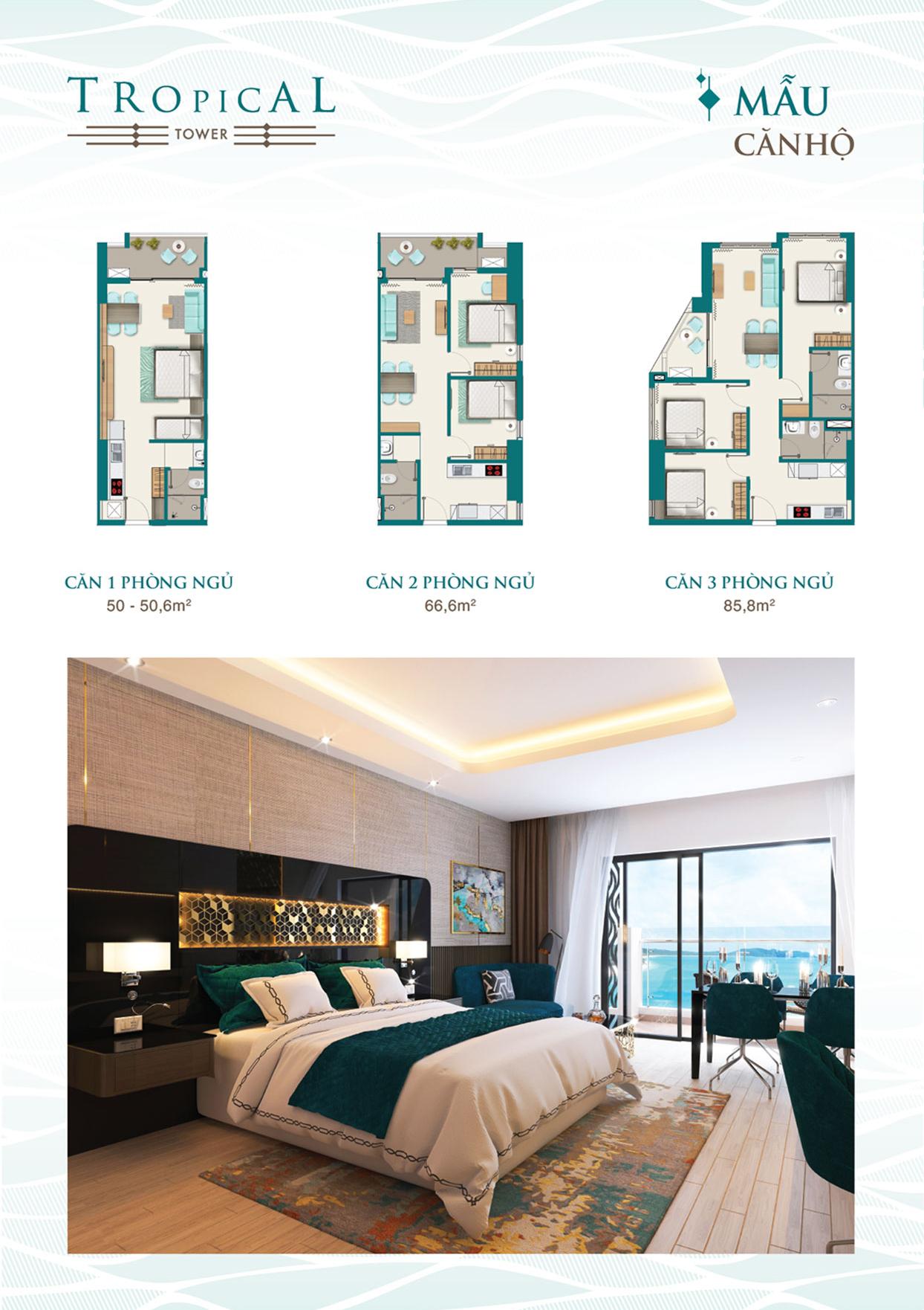 Thiết kế căn hộ Quy Nhơn Melody