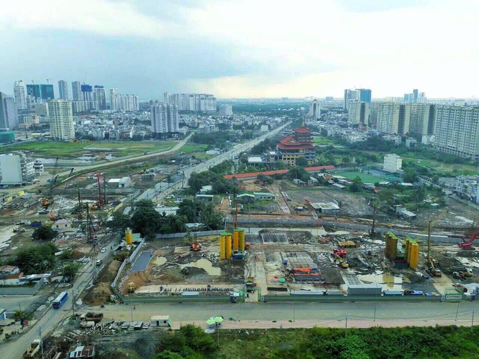 tiến độ dự án căn hộ Raemian Galaxy City
