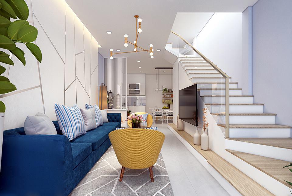 [Bật mí] 5 mẹo thiết kế nhà đẹp có diện tích nhỏ 50m2