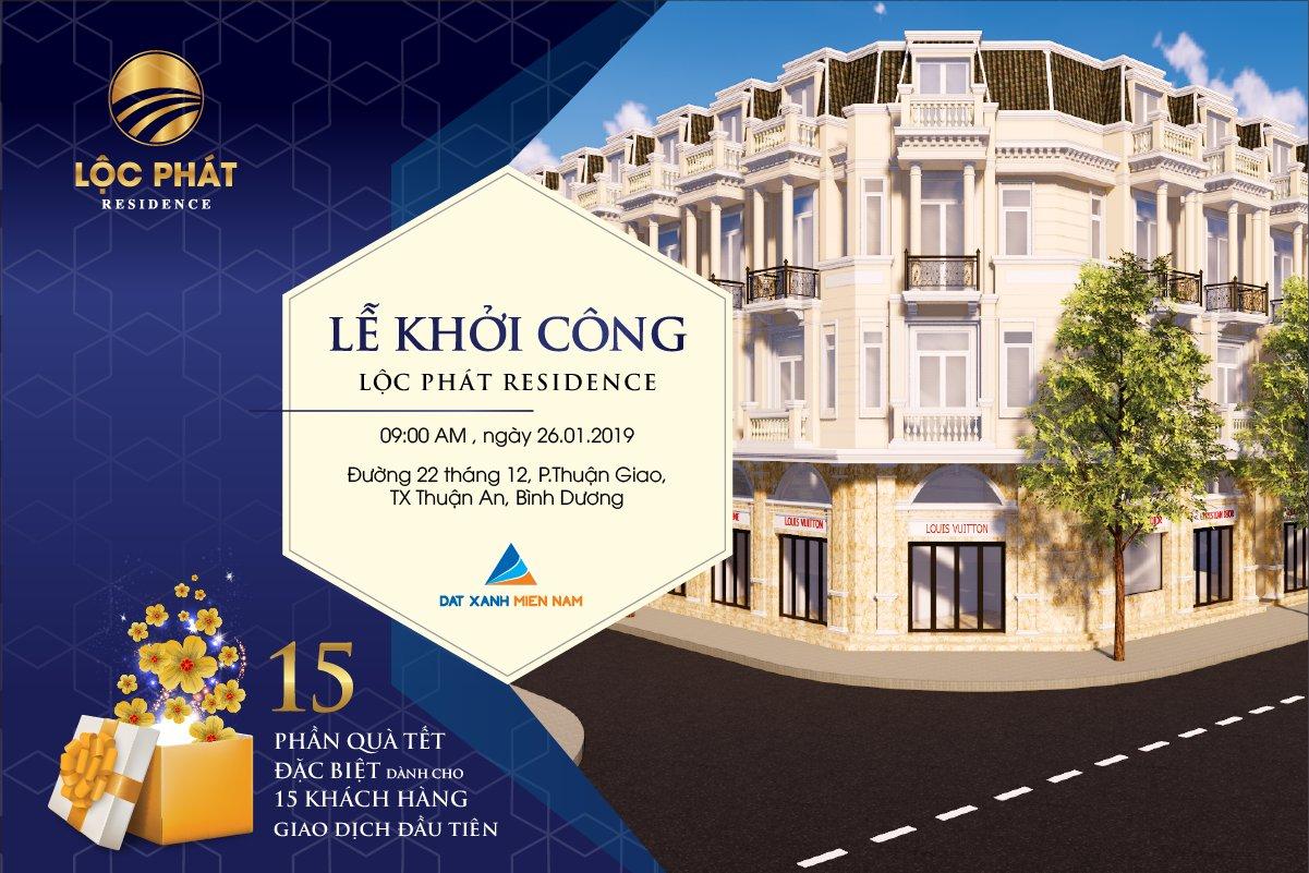 Giá bán dự án Lộc Phát Residence