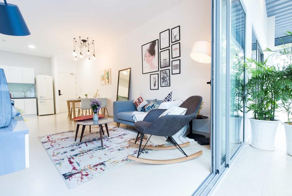 Nhà mẫu dự án căn hộ Hausvina Quận 9