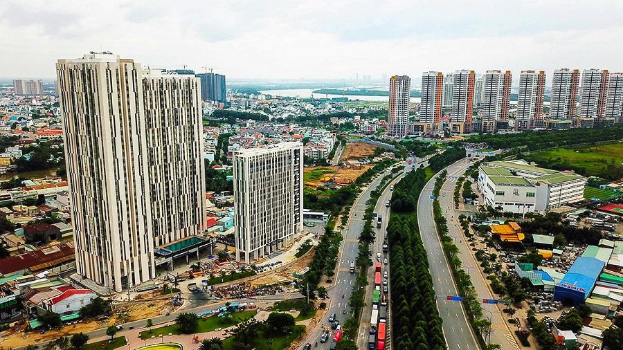 Nguồn cung căn hộ tăng mạnh tại khu Đông HCM