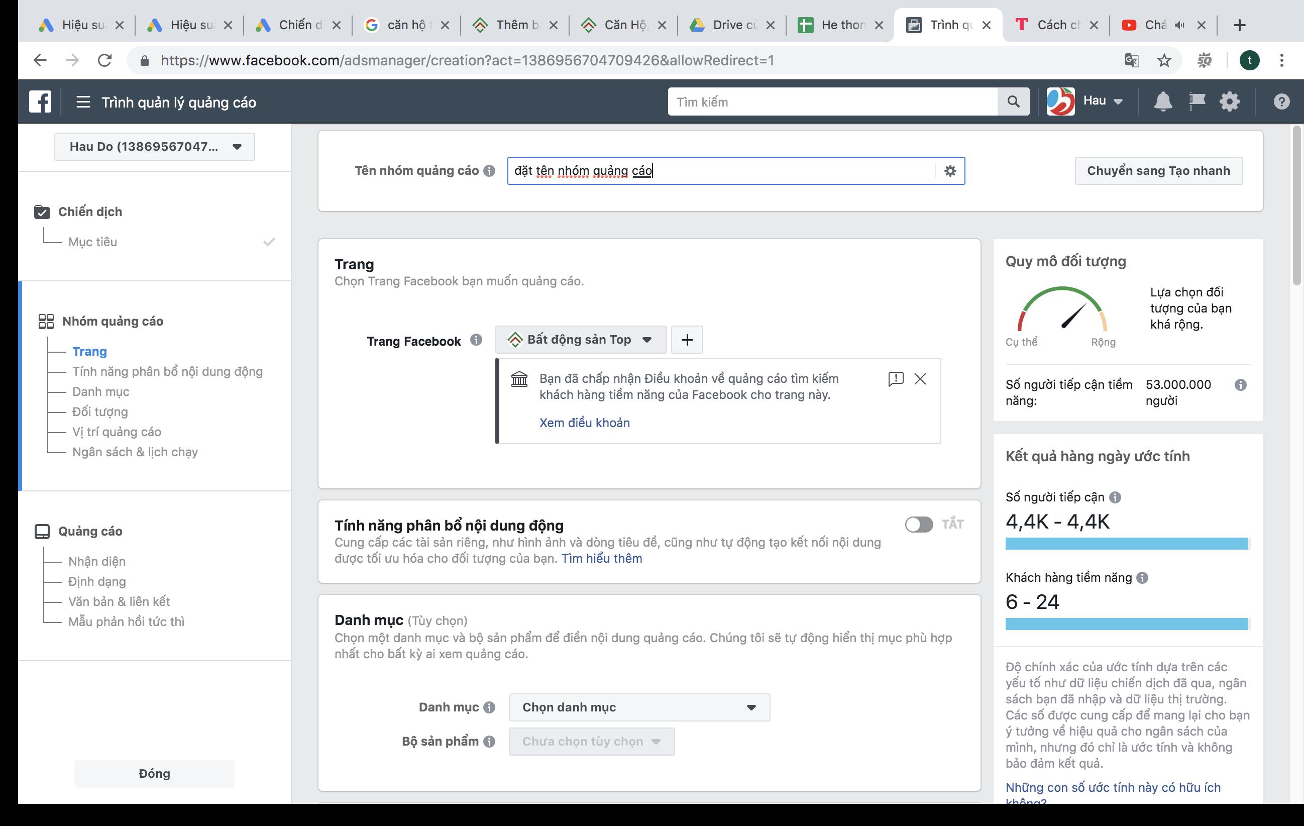 Hướng dẫn set Facebook ads khách hàng tiềm năng