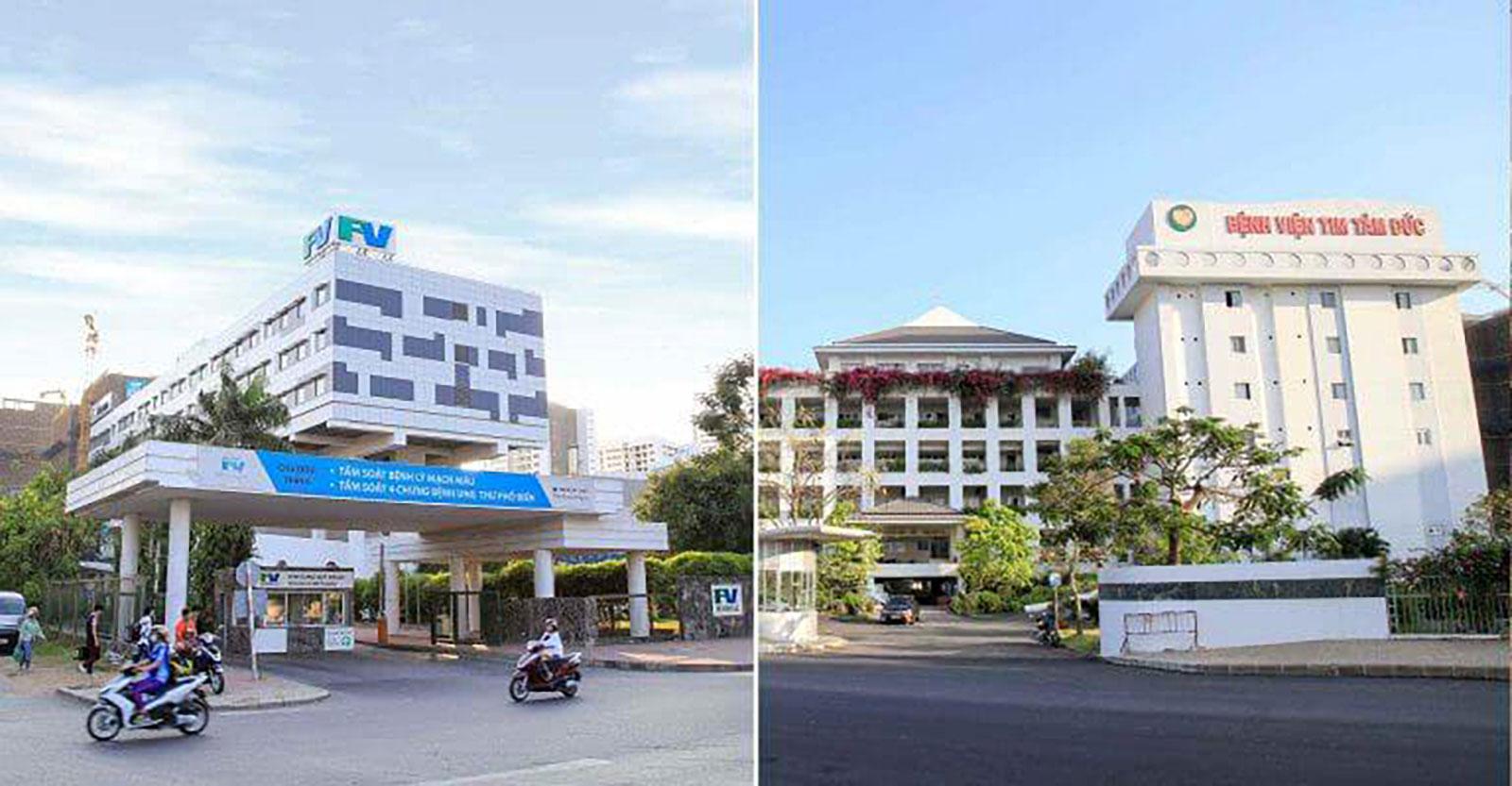 Bệnh viên quốc tế liền kề dự án Q7 Boulevard